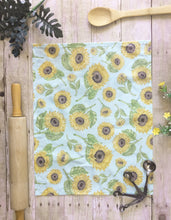 Load image into Gallery viewer, Sunflower Tea Towel