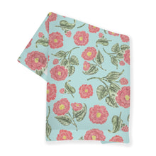 Load image into Gallery viewer, Japanese Camellia Flower Tea Towel - Alabama State Flower
