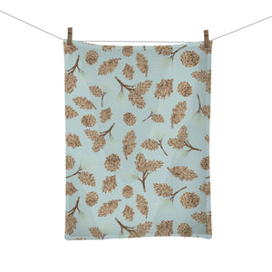 Pinecone Tea Towel