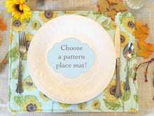 Load image into Gallery viewer, Choose a pattern Place mat - Table Linens - Home Decor