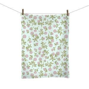 Red Clover Tea Towel - Vermont State Flower