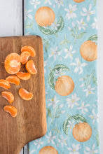 Load image into Gallery viewer, Orange Blossom Tea Towel