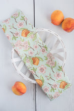 Load image into Gallery viewer, Peach Blossom Tea Towel