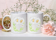 Load image into Gallery viewer, Letter O Floral Monogram Mug