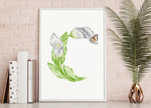 Load image into Gallery viewer, Letter C Initial Art Print