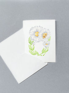 Letter O Initial Folded Card