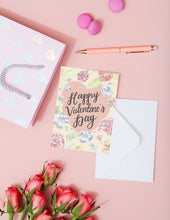 Load image into Gallery viewer, Happy Valentines Day Card
