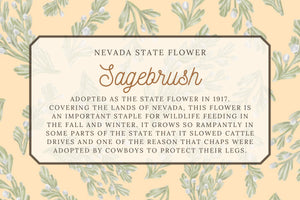 Sagebrush Tea Towel