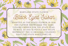 Load image into Gallery viewer, Black Eyed Susan Tea Towel