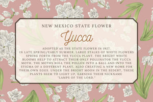 Yucca Flower Scarf - New Mexico State Flower