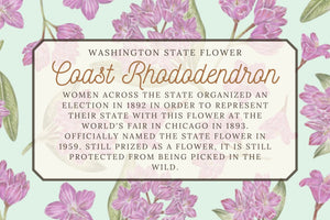 Coast Rhododendron Tea Towel