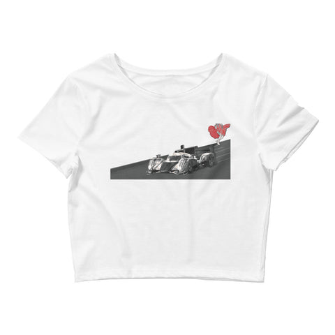 Women's Near Miss Crop Tee