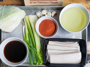 N8 Hot Oil-Seared Hand-Ripped Noodles Meal Kit