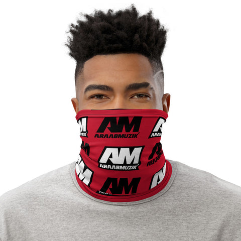 araabMUZIK Face Mask (Red Neck Gaiter Style) - araabMUZIK