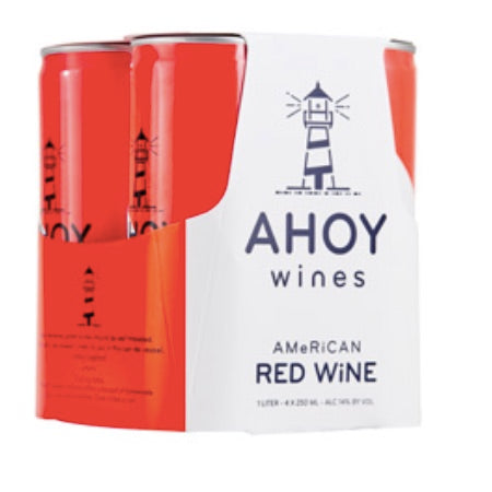 Ahoy Wines - Red - 250ml four-pack