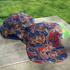 Paisley Snap Back Hat