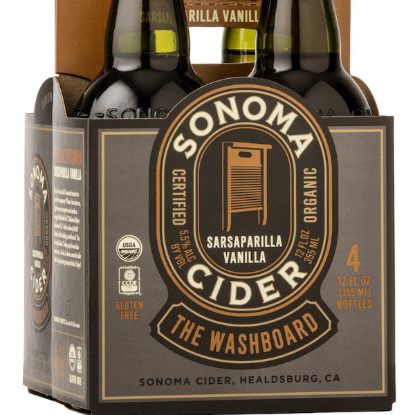 The Washboard - Core Cider 12oz four-pack