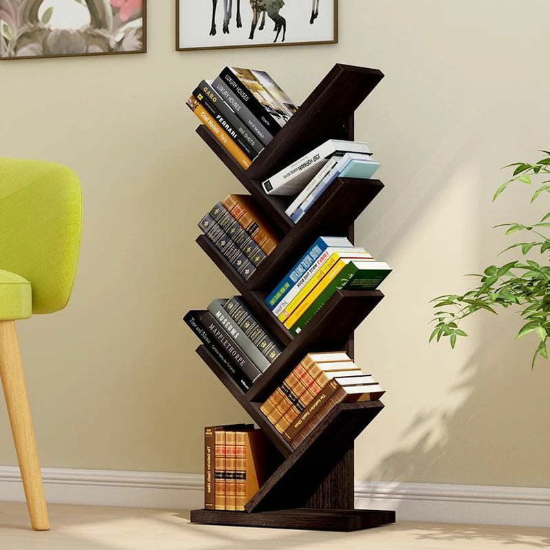 7 Tier Tree Bookshelf / Rack Organizer  - Black