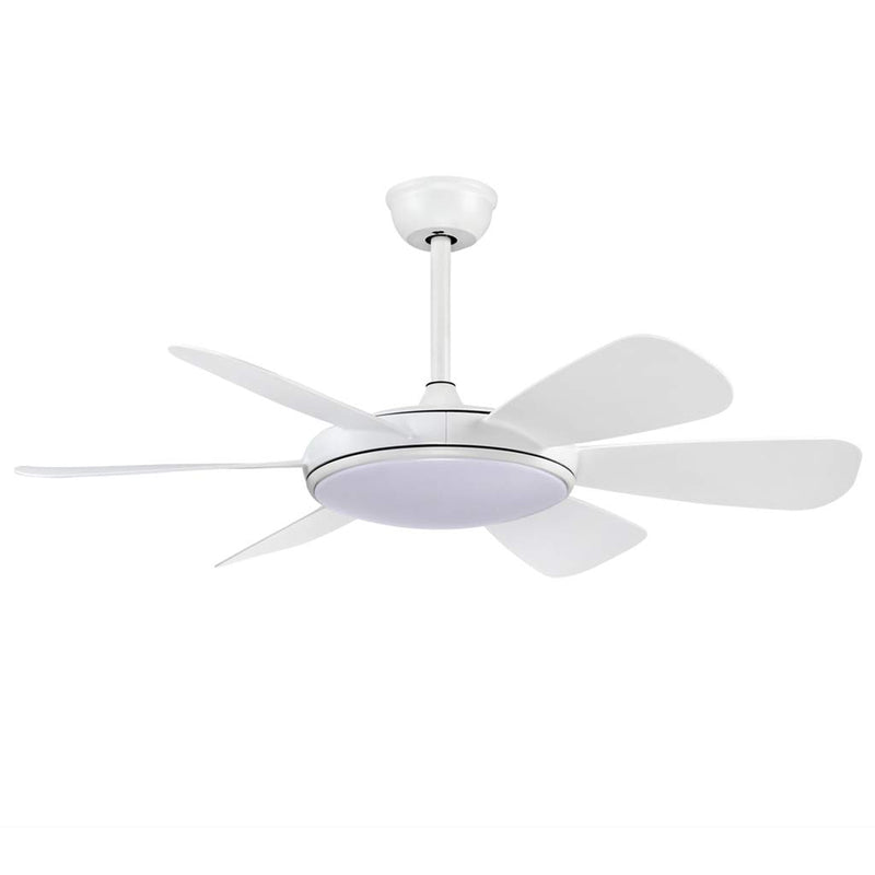 "6 ABS Blades Ceiling Fan 44"" inches with LED Light"