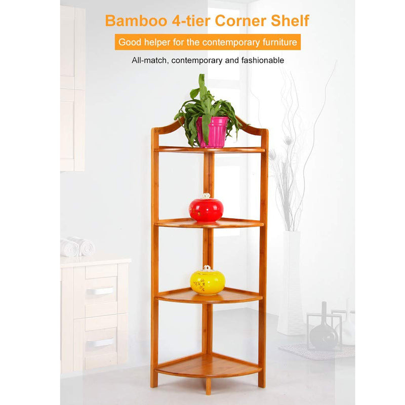 4 Tiers Corner Multi-Functional Flower Plant Display Stand