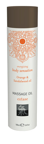 Shiatsu Massage Oil Extase Orange And Sandalwood Oil 100ml