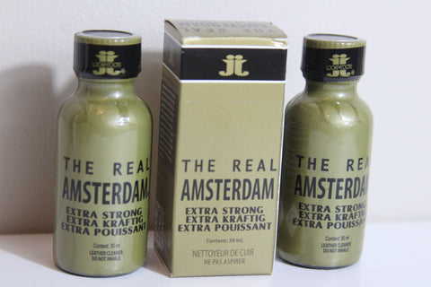 The Real Amsterdam EXTRA STRONG 30 ML Leather Cleaner