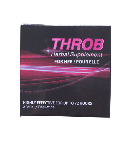 Throb Female Herbal Supplement for Women (2 caps)