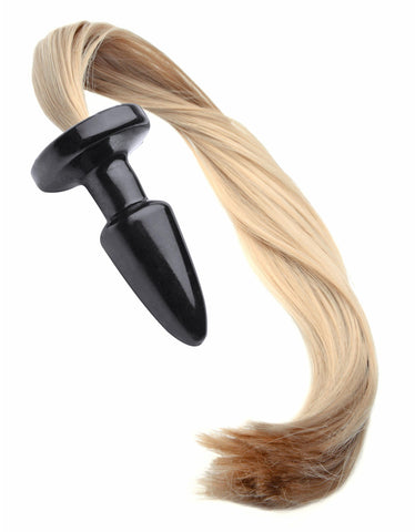 Adult Toys - Blondie Pony Tail Butt Plug