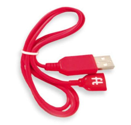 Adult Toys - Gvibe2 Magnetic Charge Cable Red USB