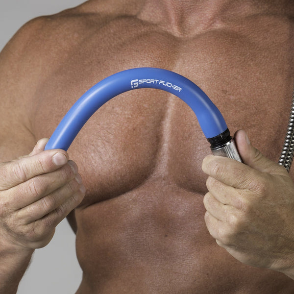 Adult Toys - Locker Room Hose Blue 6in