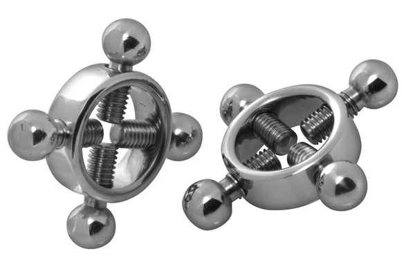 Adult Toys - Rings Of Fire Stainless Steel Nipple Press Set