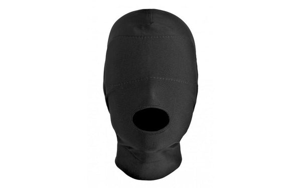 Bondage - Disguise Open Mouth Hood With Padded Blindfold