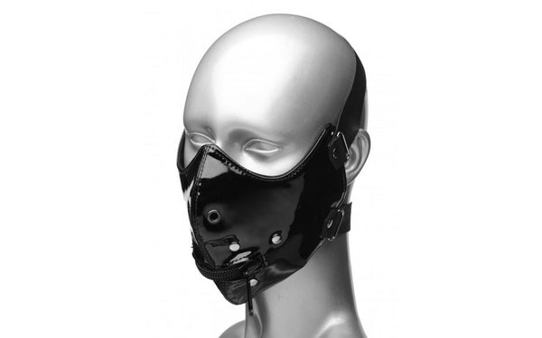 Bondage - Lektor Zipper Mouth Muzzle