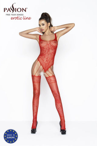 Lingerie - Bodystocking BS034 Red