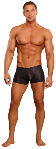 Lingerie - Male Power Black Cobra Mini Short