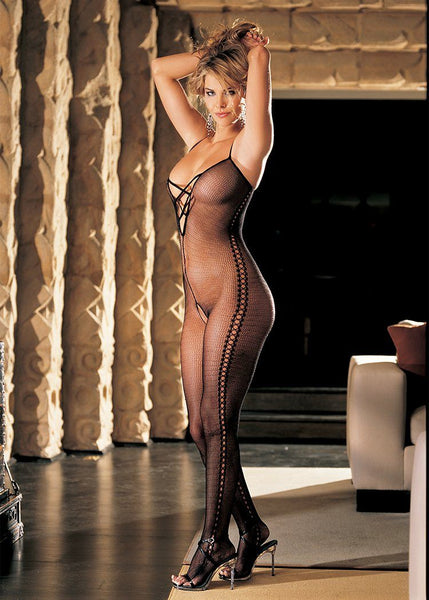 Lingerie - Stretch Fishnet Bodystocking