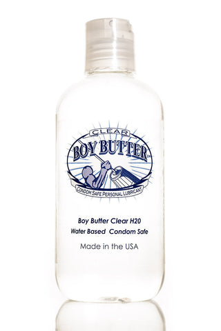 Lotions & Potions - Boy Butter H2O Clear Bottle 4oz