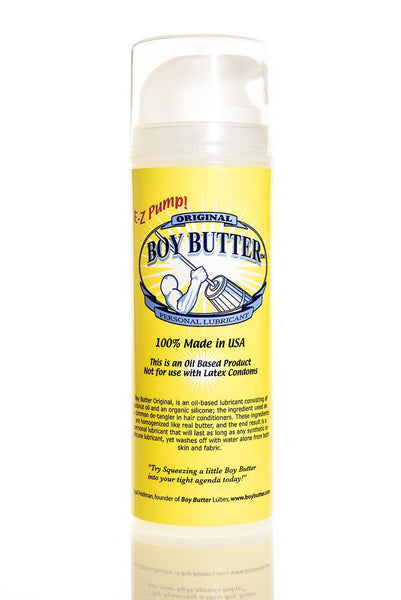 Lotions & Potions - Boy Butter Original Pump 5oz