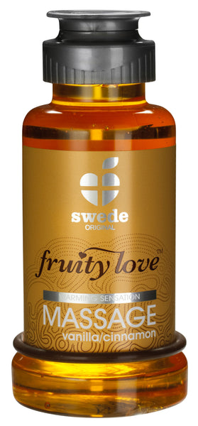Lotions & Potions - Swede Fruity Love Massage Vanilla/Cinnamon 100ml