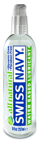 Lotions & Potions - Swiss Navy All Natural Lubricant 8oz/236ml