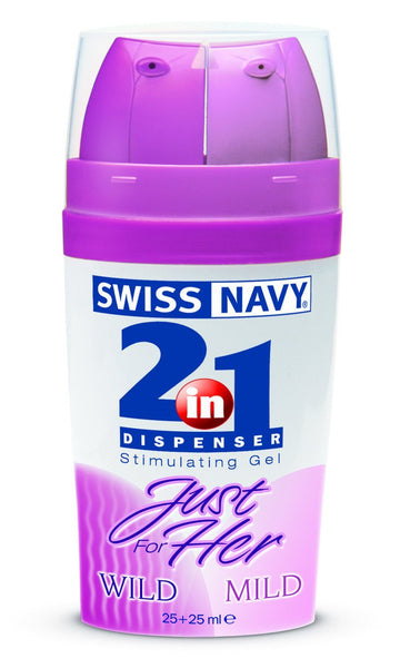 Lotions & Potions - Swiss Navy Just For Her 2-IN-1 50ml