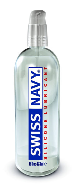 Lotions & Potions - Swiss Navy Silicone Lubricant 16oz/473ml