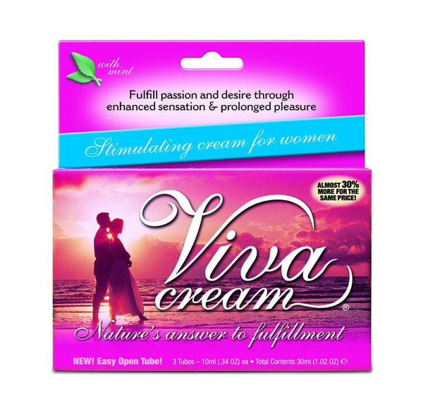 Lotions & Potions - Swiss Navy Viva Cream 10ml 3 Pk