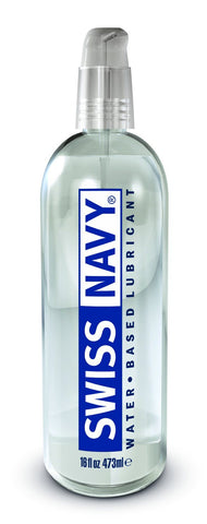 Lotions & Potions - Swiss Navy Water Based Lubricant 16oz/473ml