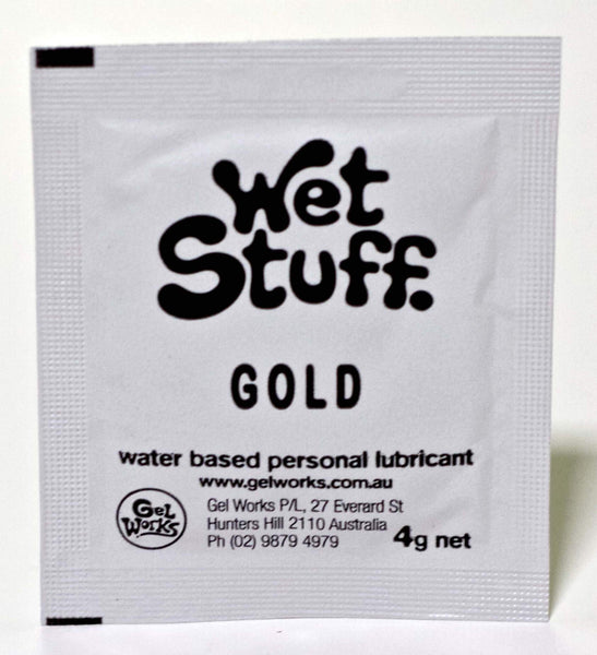 Lotions & Potions - Wet Stuff Gold 4g Sachets (50pk)