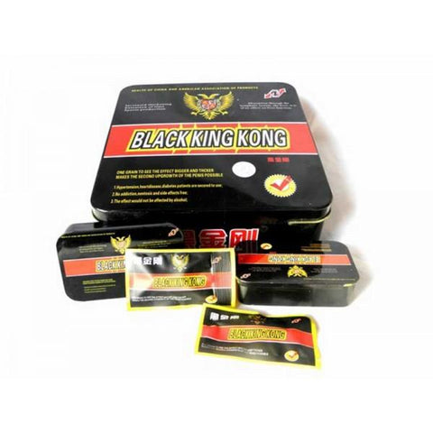 Sex Pills - 10 X Black King Kong Herbal Male Enhancement Sex Pills