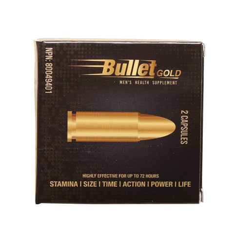 Sex Pills - Bullet Herbal Supplement For Men (2 Caps)