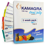 Sex Pills - Kamagra Jelly 100mg X 7 Sachels