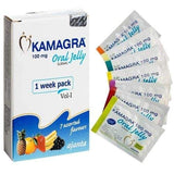 Kamagra Jelly 100mg x 7 sachels
