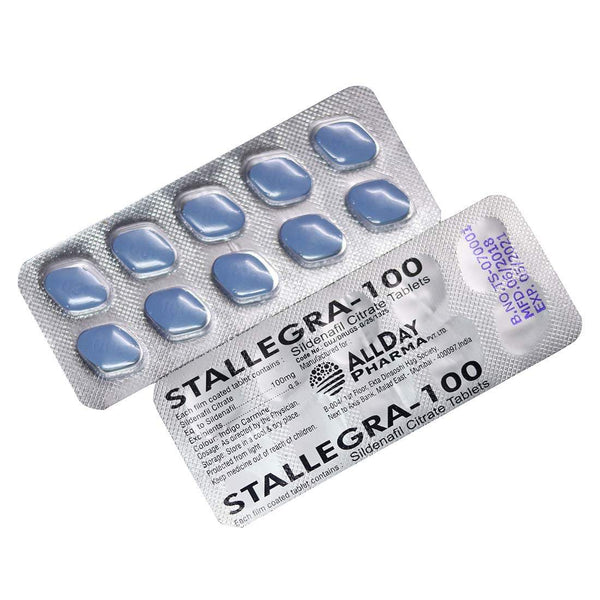 Sex Pills - Stallegra - 100mg (strip Of 10 Pills)